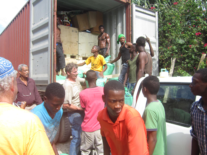 Haiti Container Delivery