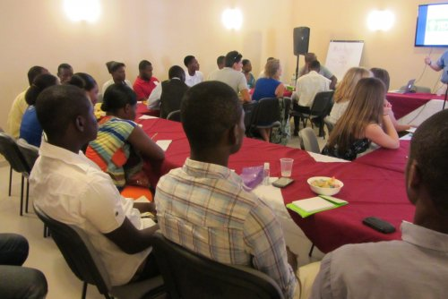Leadership Seminar in Port au Prince